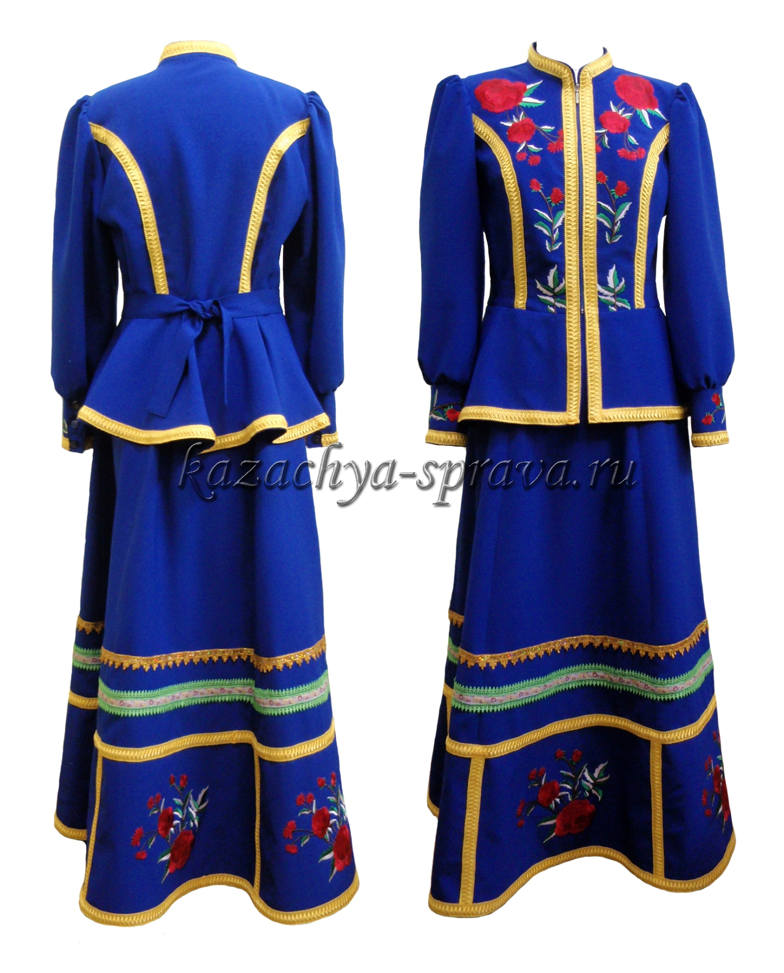 Одежда Казачья Женская Купить